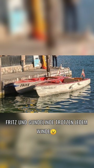 Fritz und Gundelinde trotzen jedem Winde😉